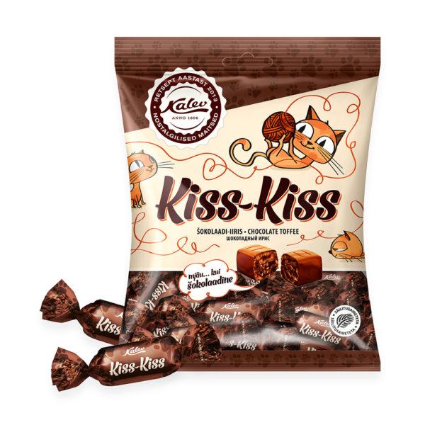 Kalev iiris. Kiss-Kiss šokolaadiiiris.