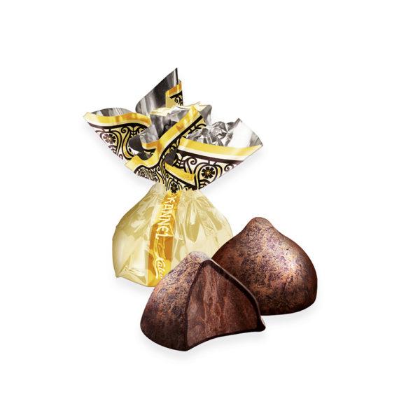 Kalev kommid. Kannel šokolaadikompvek kaalu