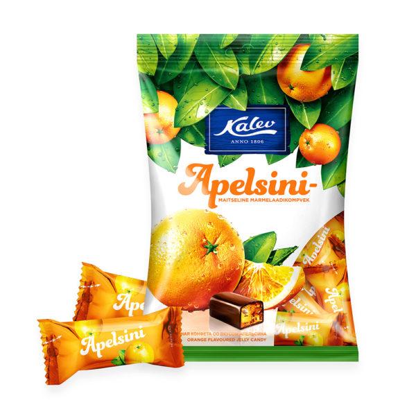 Marmelaad. Kalev apelsinimaitseline marmelaadikompvek