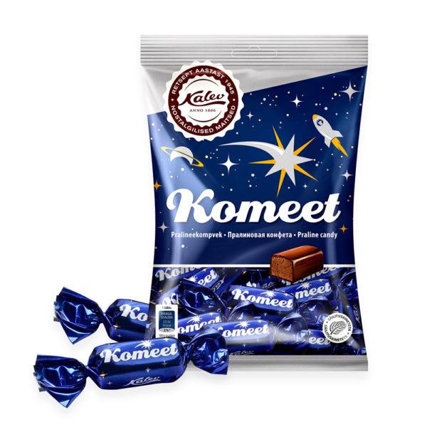 Kalev pralinee. Komeet pralineekompvek