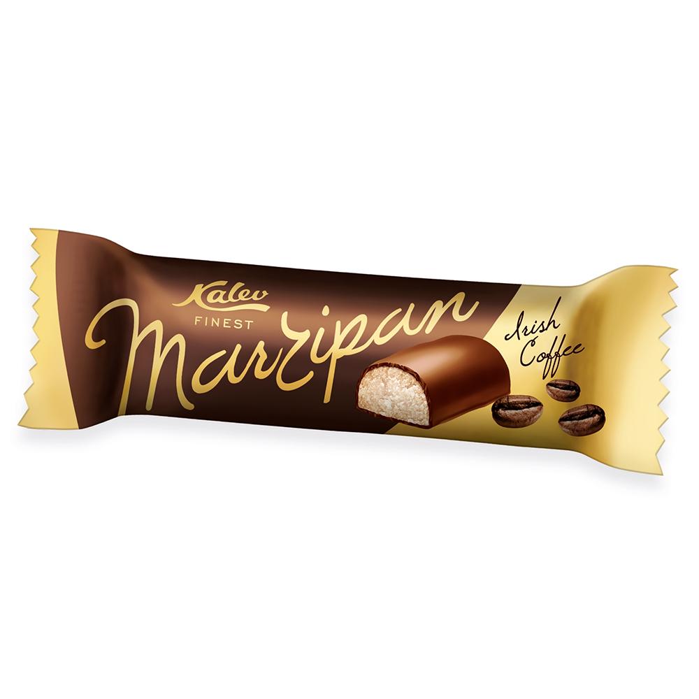 Martsipan. Kalev Marzipan iiri kohvi maitseline martsipanibatoon