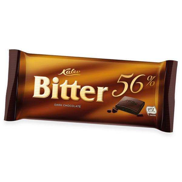 Bitter 56% tume šokolaad Kalev