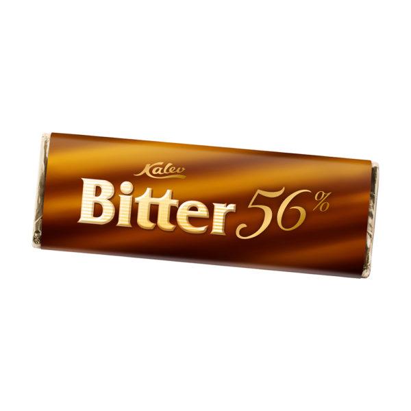 Bitter 56% tume šokolaad. Kalev