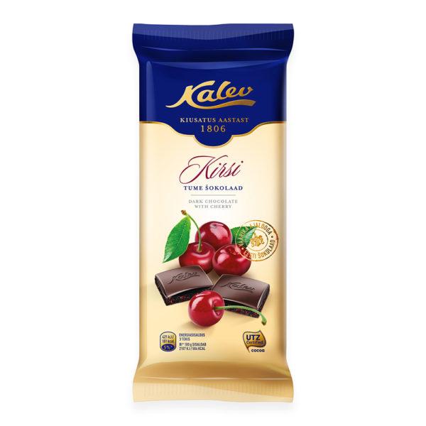 Kalev tume šokolaad kirsiga