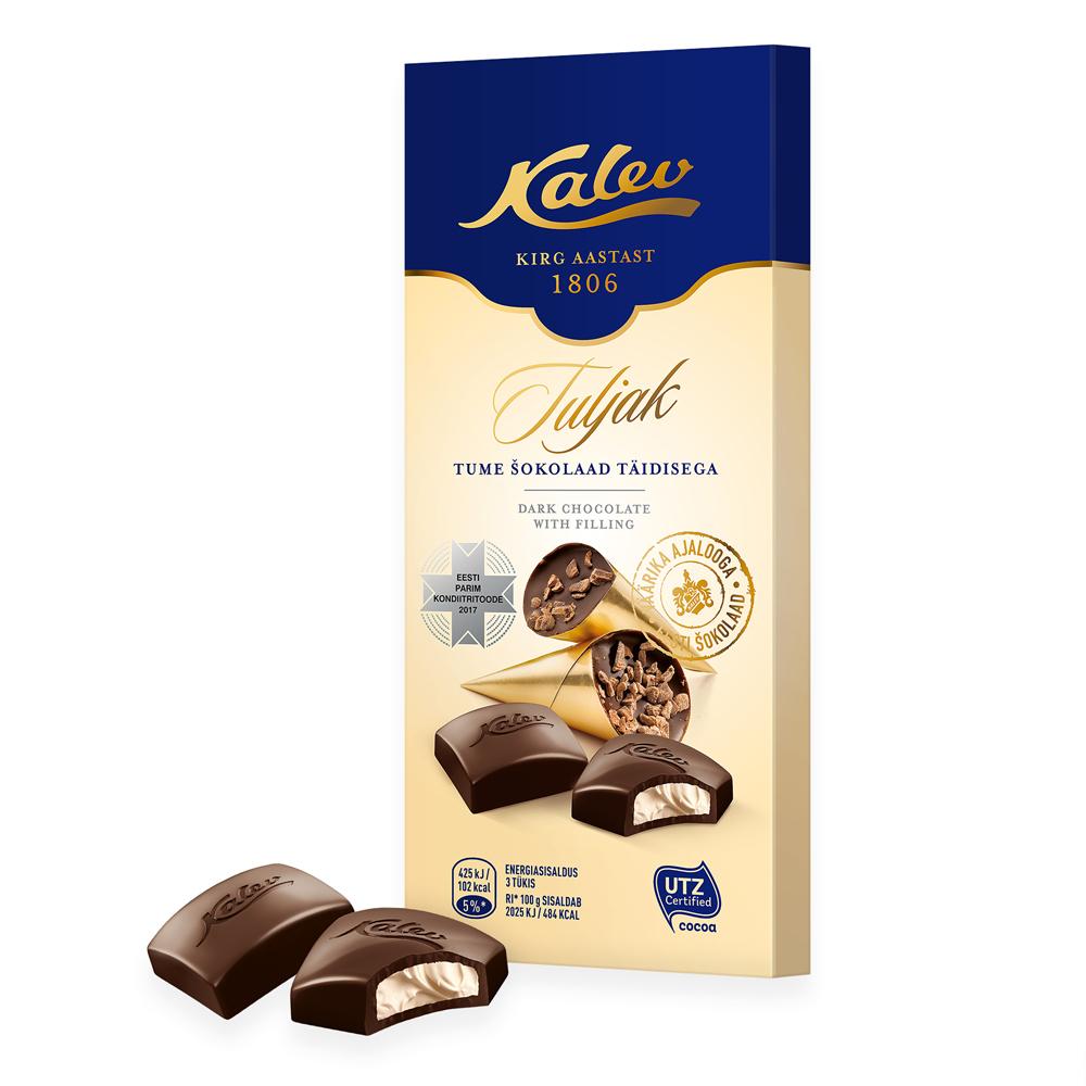 Kalev Tuljak tume šokolaad täidisega