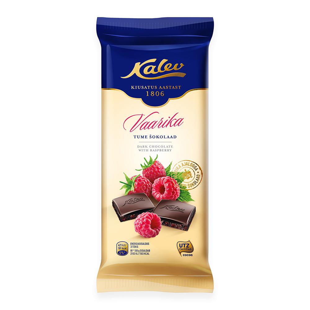 Kalev tume šokolaad vaarikaga
