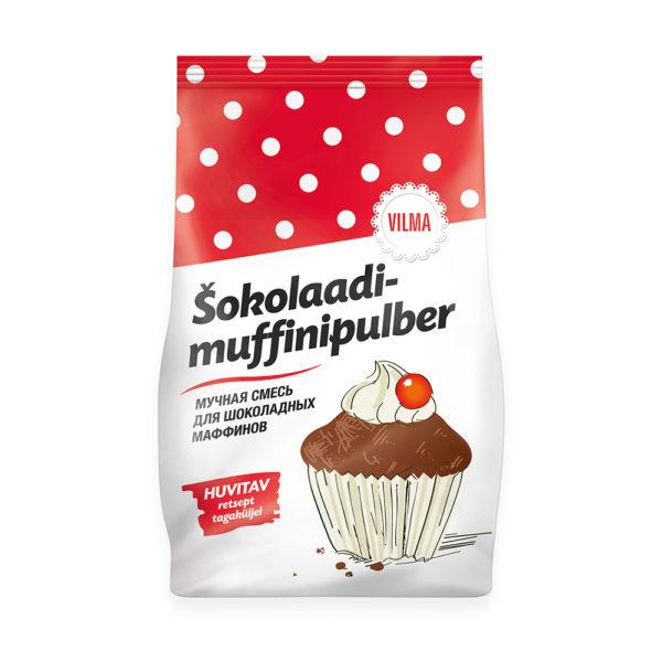 Kalev muffinipulber. Vilma šokolaadimuffinipulber.