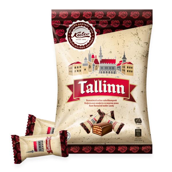Kalev kommid. Tallinn rummimaitseline vahvlikompvek