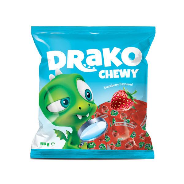 Drako maasikamaitseline närimiskompvek. Kalev