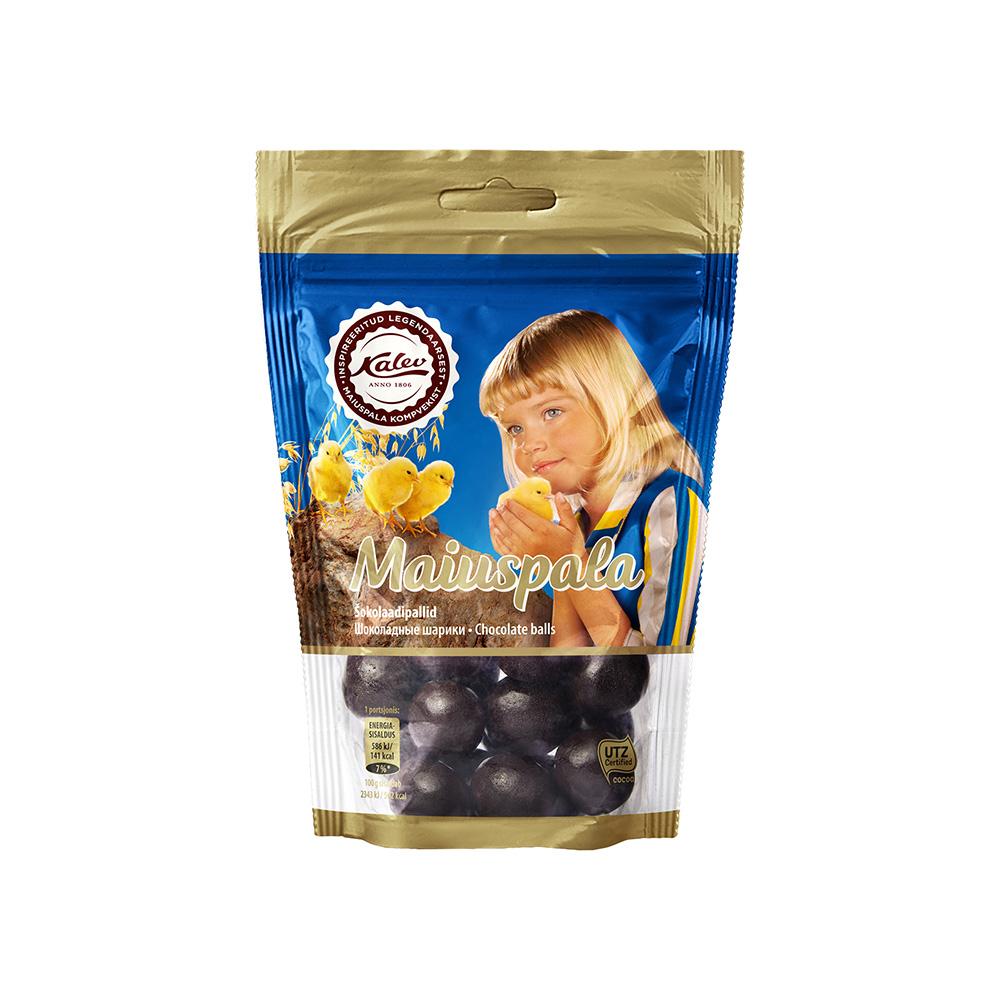 Maiuspala šokolaadipallid. Kalev