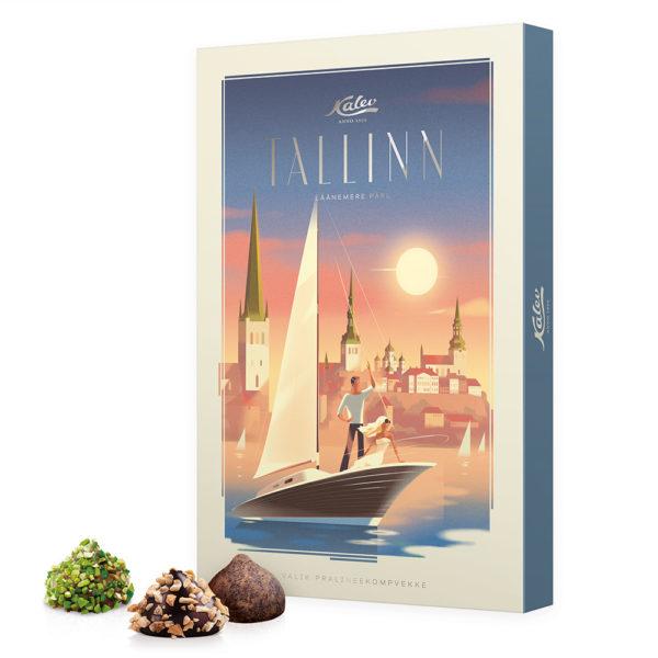 Kalev kommikarbid. Tallinn valik pralineekompvekke