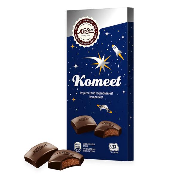 Komeet tume šokolaad täidisega