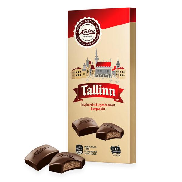 Tallinn tume šokolaad täidisega