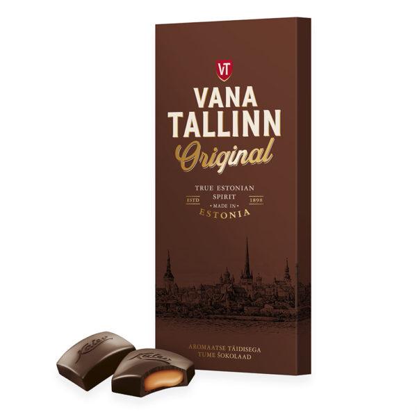 Kalev tume šokolaad Vana Tallinn