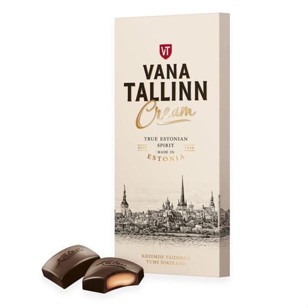 Kalev tume šokolaad Vana Tallinn Cream