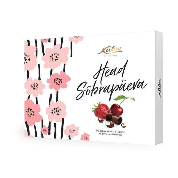 Maasika kirsimaitseline marmelaadikompvek 126g
